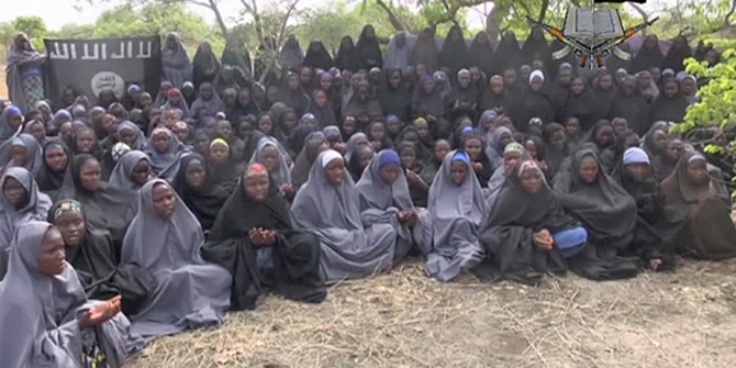 Boko Haram has said it will not free the girls until authorities release all imprisoned militants