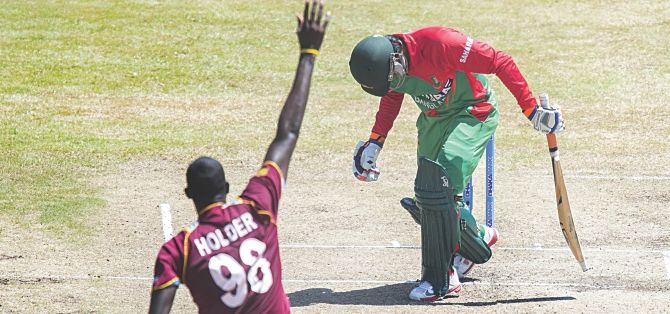 Bangladesh fold for 70, whimper to series defeat