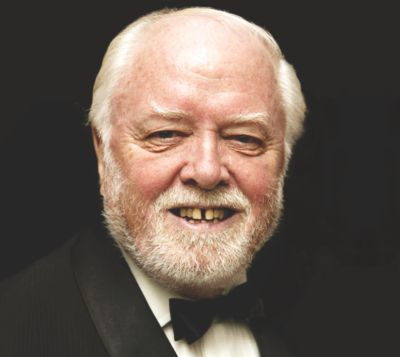 British film director, Richard Attenborough,