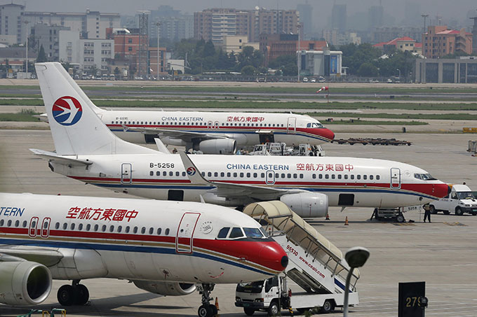 China Eastern plane aborts landing as traffic controllers take a nap