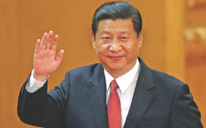In a move widely seen as completing the formal transition of power, Xi was elected President of the People's Republic of China on March 14, in a confirmation vote by the 12th National People's Congress.