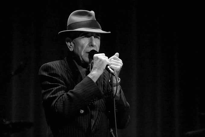 Leonard Cohen. Photo: www.leonardcohen.com