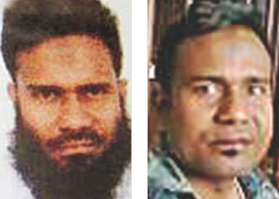 While fleeing away, convicted militant Rakib shaved off beard to change his appearance.