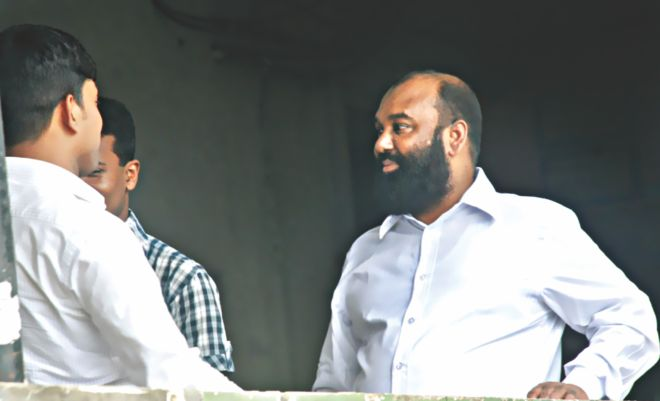 Managing Director of Tazreen Fashions Delawar Hossain was seen at the High Court on July 21, 2013. Photo: Focus Bangla