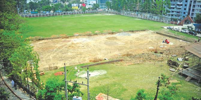 Dhanmondi playground open to public: DCC