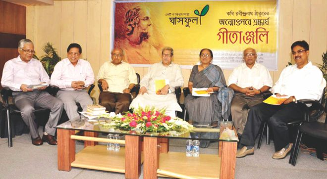 Discussants at the programme. Photo: Prabir Das