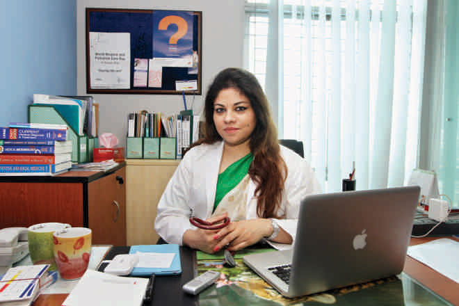 Dr Rumana Dowla, Photo: Prabir Das