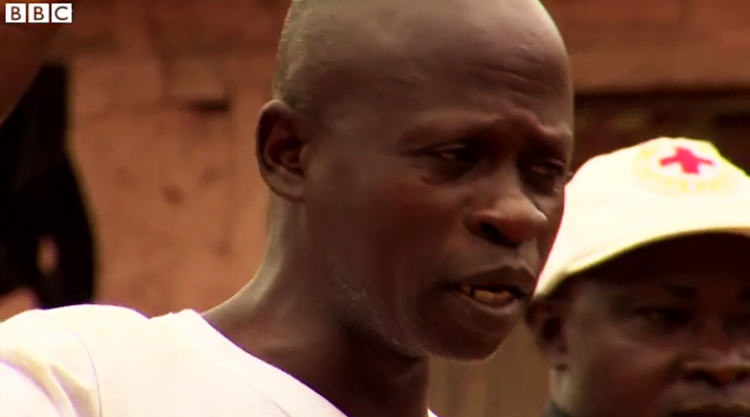 'I was asking myself whether I was going to live,' Ebola survivor.