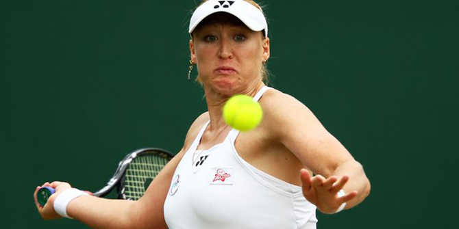 Elena Baltacha. Photo: BBC