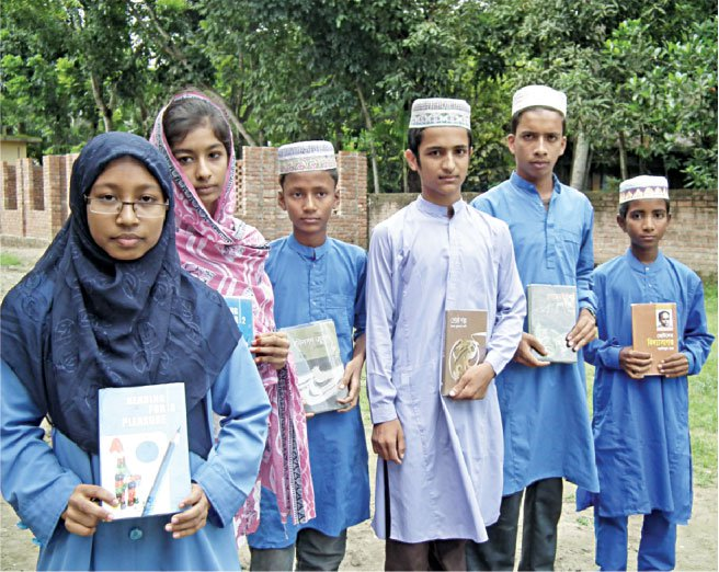 Madrasa students have been reading BSK's books with great enthusiasm.