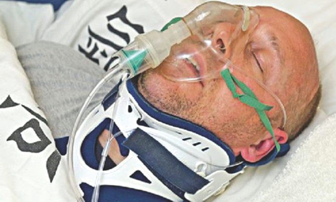 Man faked coma to evade justice