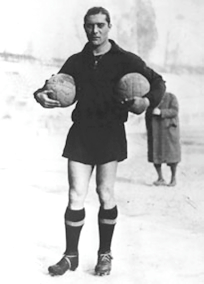 Giuseppe Meazza scored 216 goals in Serie A and netted 33 times for Italy. Photo: Daily Star Archive