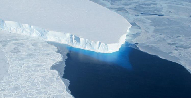 Irreversible collapse of Antarctic glaciers begins