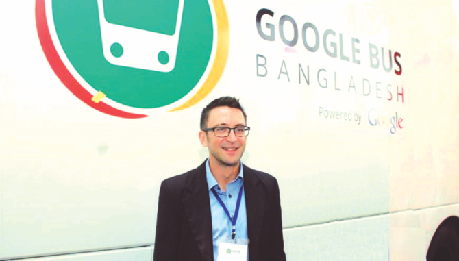 Google sees Bangladesh as a partner in making the world a global village- James McClure, Country Manager – Google S & SE Asia