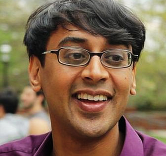 Manjul Bhargava teaches maths at Princeton University. Photo: BBC Online