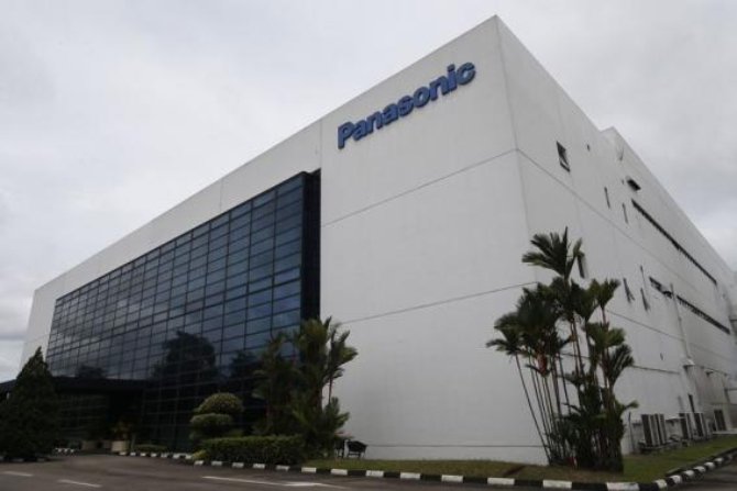 The building which houses Panasonic's first indoor vegetable farm in Singapore is pictured. Photo: REUTERS