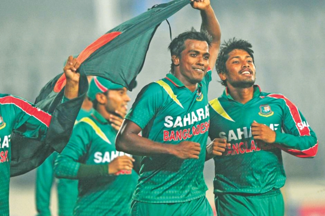 Bangladesh completed a 3-0 one-day international series whitewash over New Zealand by winning the final game in Fatullah by four wickets last Novemeber.