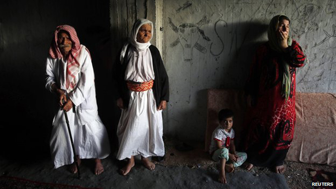 Around 80 Yazidi men were massacred in northern Iraq earlier in August by Islamic State militants. Photo: Reuters