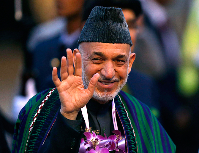 Afghan president Hamid Karzai. Photo: Reuters