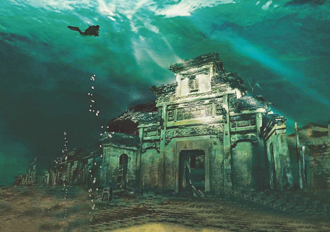 Real Underwater City China's rea...