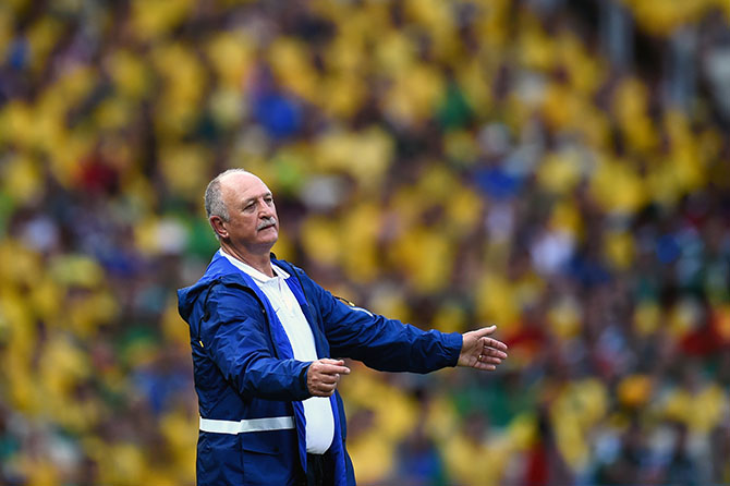 Luiz Felipe Scolari. Photo: Getty Images