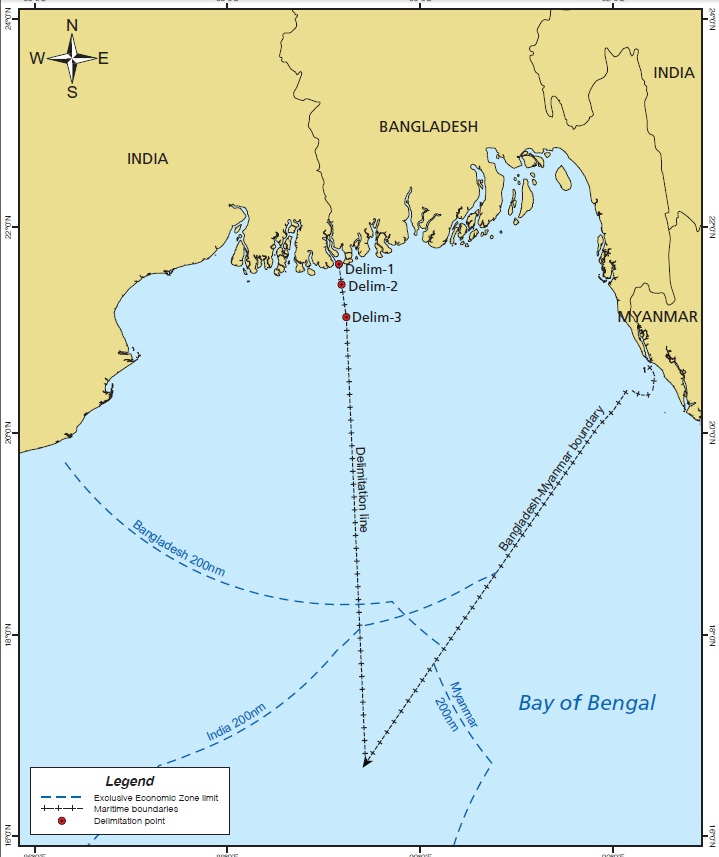 Bangladesh gets 19,467sq km area in Bay | The Daily Star