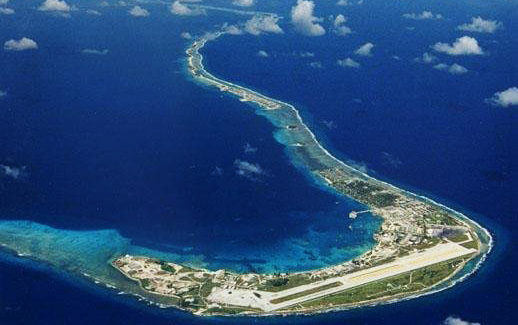 Kwajalein is one of Islands of the Marshall Islands, which are made up of 29 atolls. Photo: Google Map