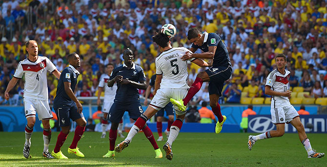 Hummels breaks French hearts