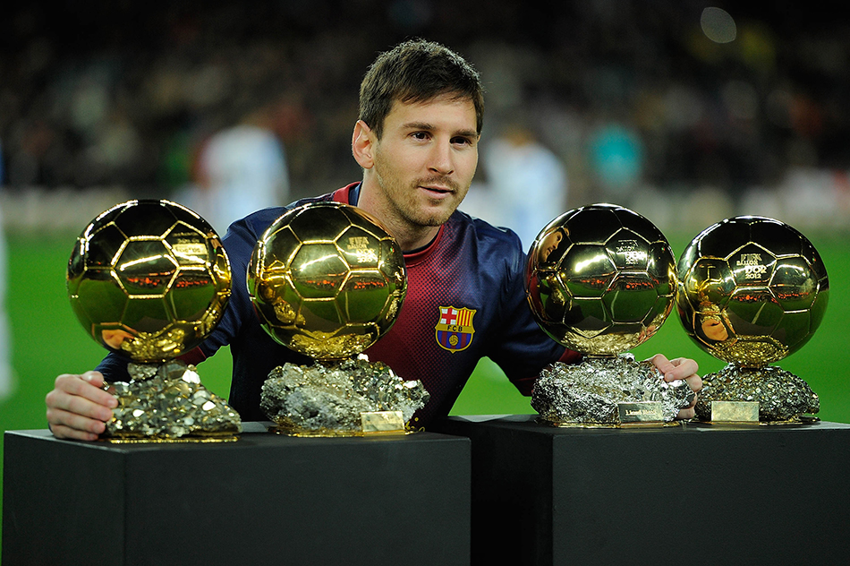 I'd give up all my records to win WC: Messi