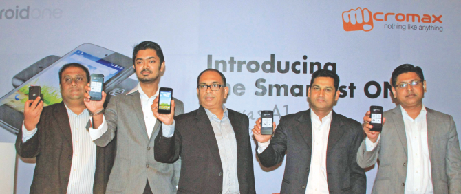 Micromax launches smartphone with Google