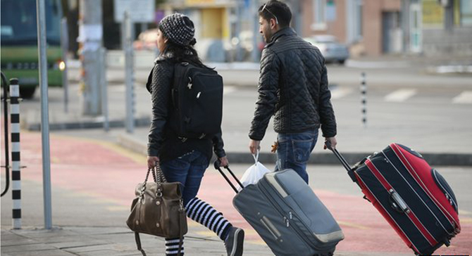 The government has been steadily tightening the rules on EU migrants' access to benefits. Photo: BBC
