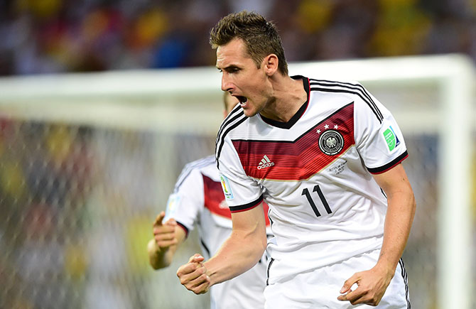 Miroslav Klose. Photo: Getty Images