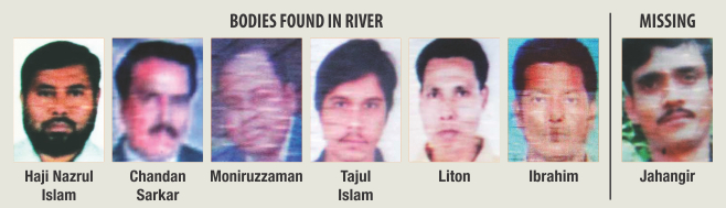 Murdered brutally, dumped into river