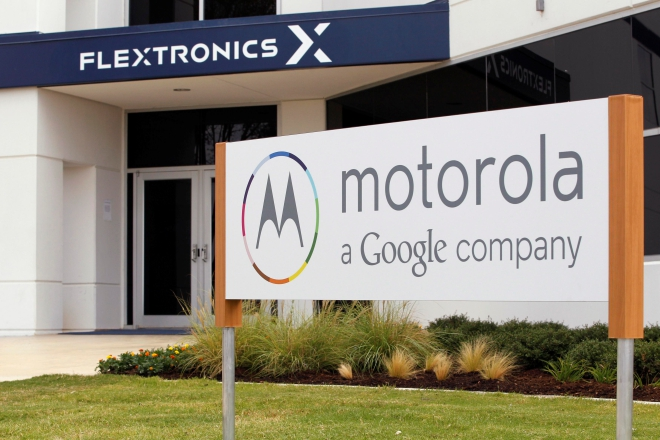 The Flextronics plant that will be building the new Motorola smartphone Moto X is pictured in Fort Worth, Texas.  Photo: Reuters