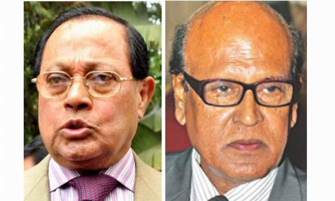 Moudud Ahmed and Khandaker Mahbub Hossain