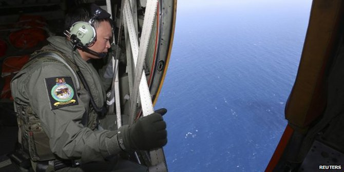 Several countries are scouring the seas for signs of the missing plane