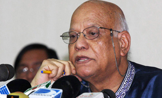 Finance Minister AMA Muhith