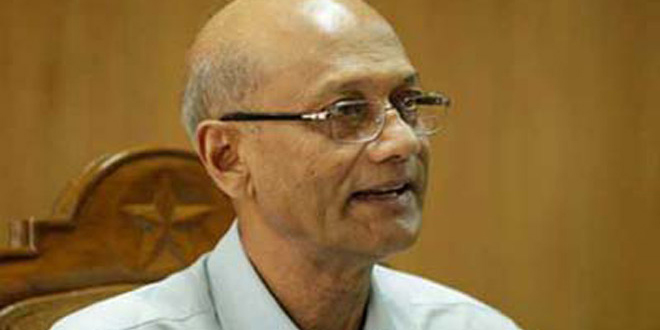 Education Minister Nurul Islam Nahid