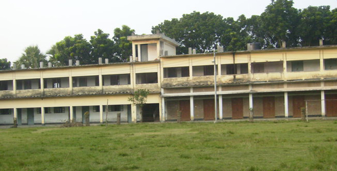 A view of Natore Government Girls High School. The photo was taken from the schools' Facebook.