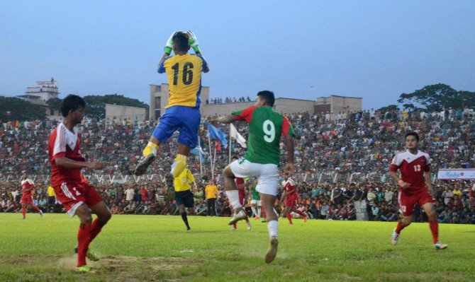 Nepal win frenetic Sylhet friendly