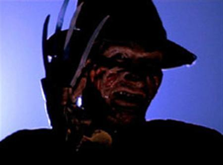 A scene from the 1980s film ''A Nightmare on Elm Street''. Photo: Reuters