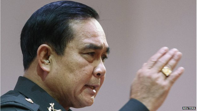 Thailand coup general named PM