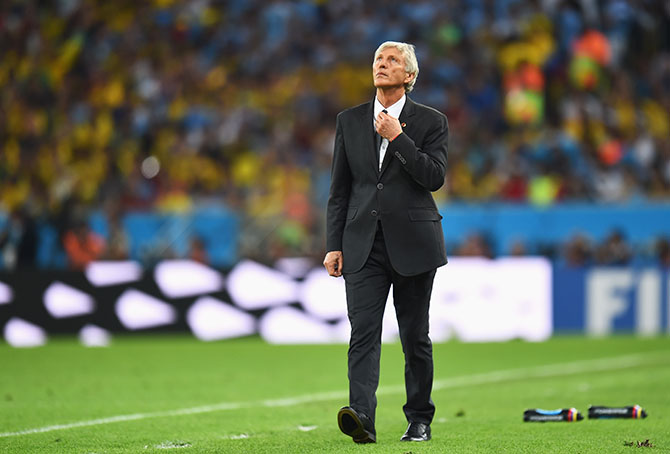 Jose Pekerman. Photo: Getty Images