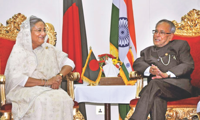 By choosing Bangladesh as the first country to visit, India's Bengali-speaking head of state Pranab Mukherjee, in early March, signalled his intention to clear up the hurdles in bilateral relations.
