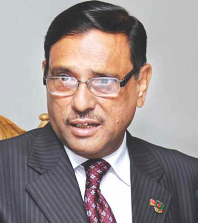 Communications Minister Obaidul Quader