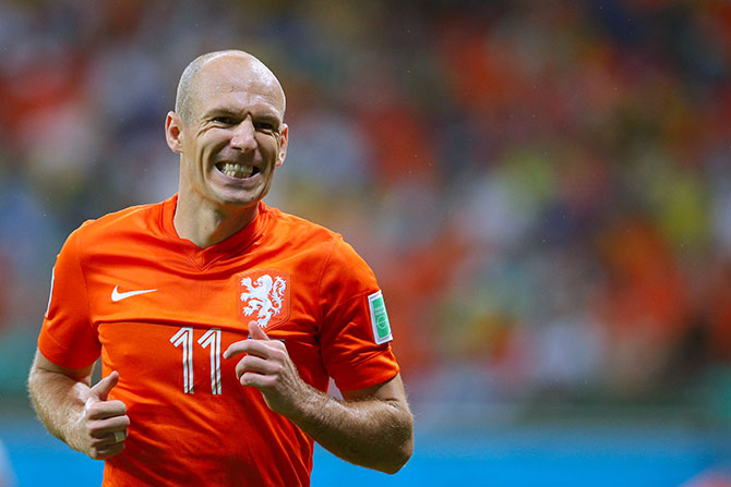 Arjen Robben. Photo: Getty Images