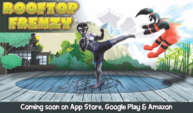 Rise Up Lab brings Rooftop Frenzy