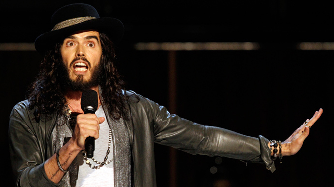 Russell Brand may give up acting to focus on revolution