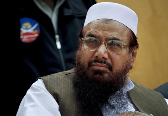 Hafiz Saeed, leader of a banned Islamic group Jamat-ud-Dawa and prime suspect in the Mumbai terror attacks. Photo: AP