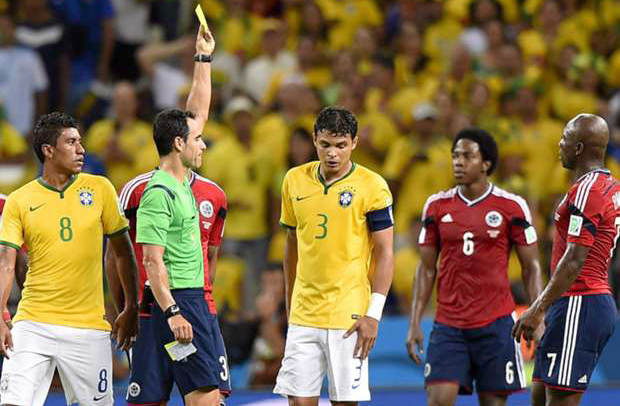 Thiago Silva's absence as big a blow as Neymar's. Photo: Getty Images